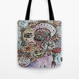 Sunflowers and Unhappiness Tote Bag