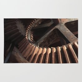 Grist Mill Gears Rug