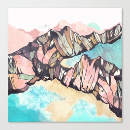 Solitary Beach Canvas Print