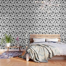 Halloween pattern design Wallpaper