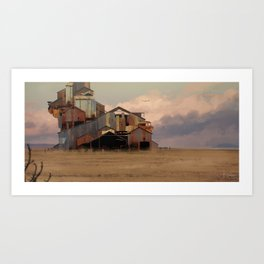 Abandoned House Art Print