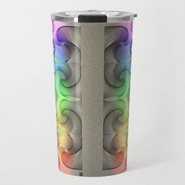 Flow - Stereogram Travel Mug