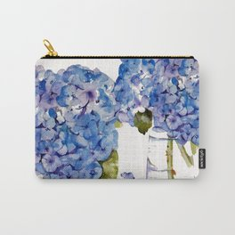 Hydrangea painting Carry-All Pouch