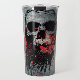 Blood Skull Travel Mug