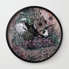 Land of the Sleeping Giant Wall Clock
