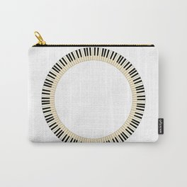 Pianom Keys Circle Carry-All Pouch