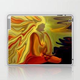 GURU IN MEDITATION Laptop & iPad Skin