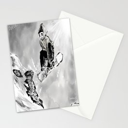 Tricks and Jumps  Stationery Cards