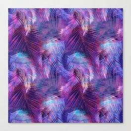 Tamarindo Tropic Purple Canvas Print