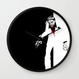 THE WORLD IS THIERS Zombie years print Wall Clock