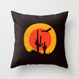Death Valley (vulture song) Throw Pillow