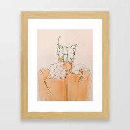 Breaking out Framed Art Print