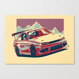 Nissan Silvia S14-  Drift Missle Canvas Print