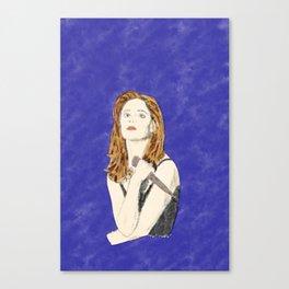 Buffy the Vampire Slayer - Watercolor Canvas Print