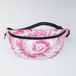 Light Pink Tie Dye Fanny Pack