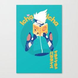 Kakashi and Icha Icha Canvas Print