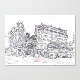 ShenZhen. China. Market Canvas Print