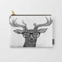 Hipster stag Carry-All Pouch