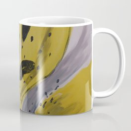 Yellow Tiger Lily Coffee Mug