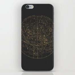 Visible Heavens - Dark iPhone Skin