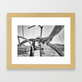 Confident Framed Art Print