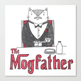 The Mogfather Canvas Print