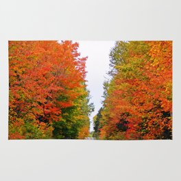 Rolling Through the Hills of Autumn Rug