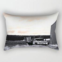 old truck Rectangular Pillow