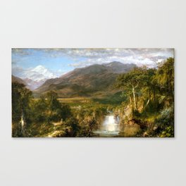 Frederic Edwin Church Heart of the Andes Canvas Print