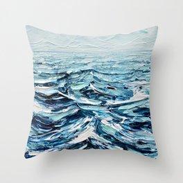 Tiny Seascape No. 2 Throw Pillow