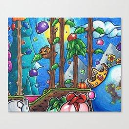 Slime rain Terraria Canvas Print