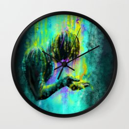 The oil from heaven Wall Clock
