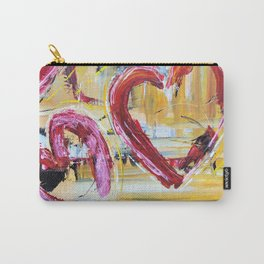 Three Of Hearts Carry-All Pouch