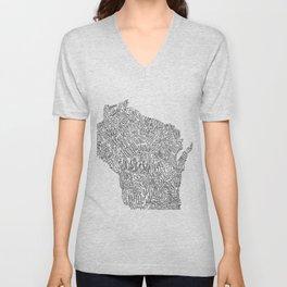 EED - Wisconsin Unisex V-Neck