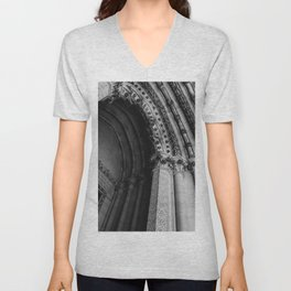 Cathedral Church of St. John the Divine II Unisex V-Neck