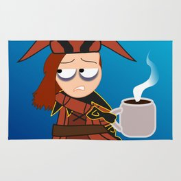 Cicero. Coffee. Rug