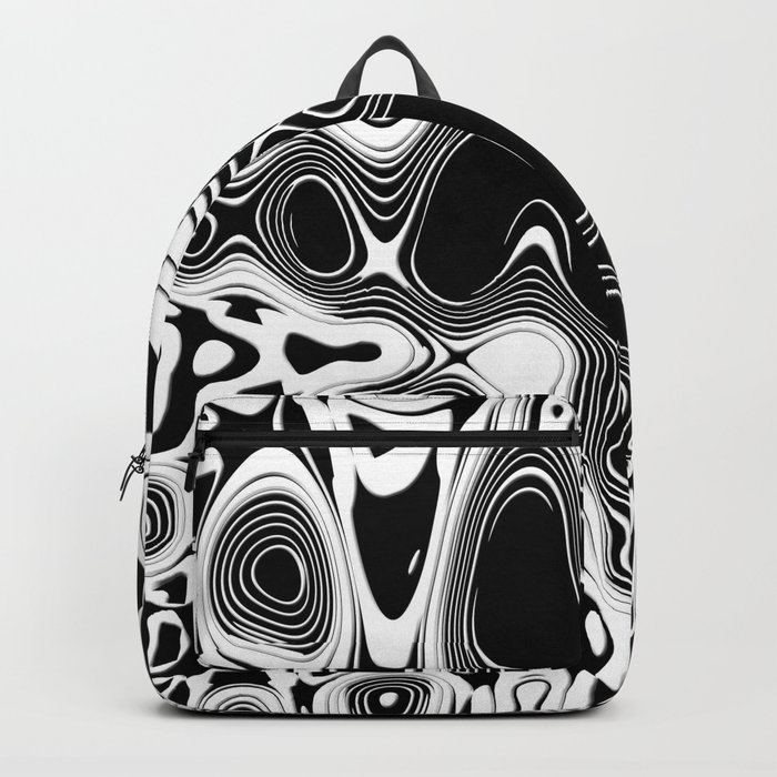 Abstract Pseudo Arteries Backpack