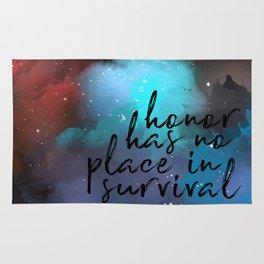 No Place in Survival Rug