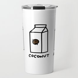 Soy Coconut Almond Travel Mug