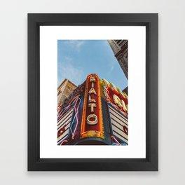 Los Angeles Rialto Theatre Framed Art Print