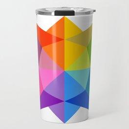 Celestial Rainbow Star Travel Mug