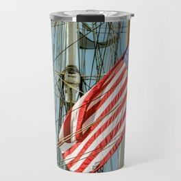 Sailing Ship Flag Travel Mug