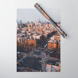 Empire Cityscape Wrapping Paper