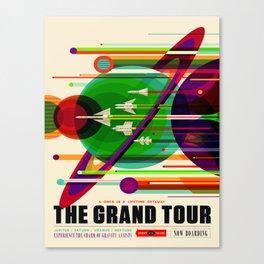 Vintage poster - The Grand Tour Canvas Print