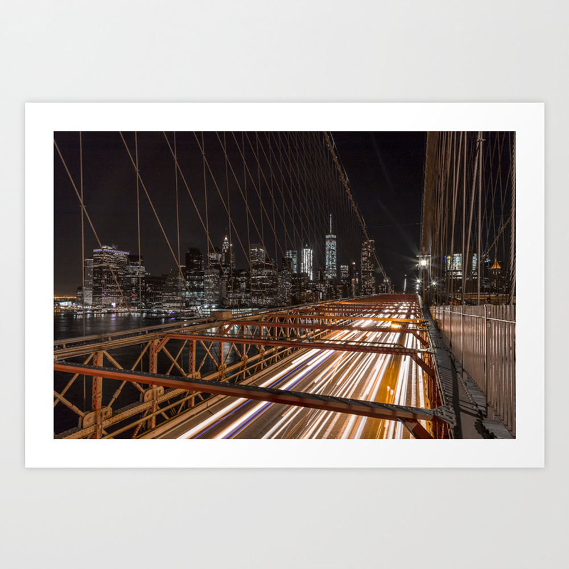 New York: The City Of Dreams. Art Print by Nowheredan PRN8735292