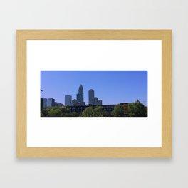 MYCITY Framed Art Print