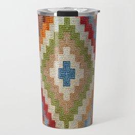 kilim rug pattern Travel Mug