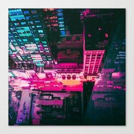 Night Lights New York City Canvas Print