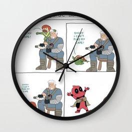 ecks forse adventures #1 Wall Clock