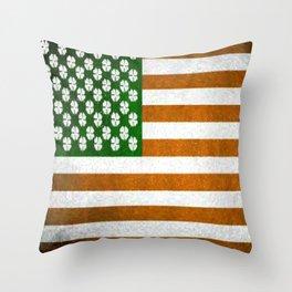 Irish American 015 Throw Pillow